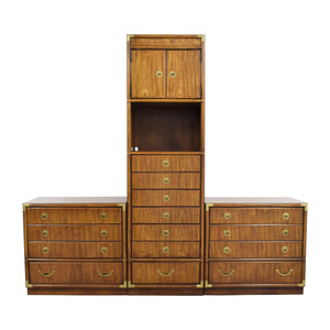 Drexel Drexel Three Piece Dresser Cabinet Set on sale