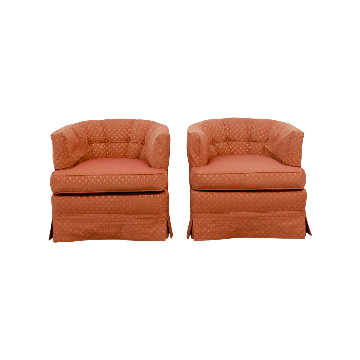 Red Upholstered Accent Chairs nyc