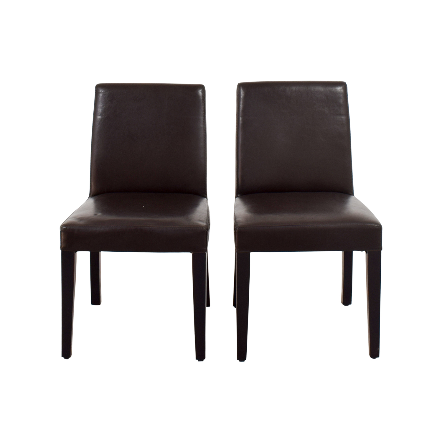 Crate And Barrel Dining Room Chairs: Crate & Barrel Crate & Barrel Brown Leather