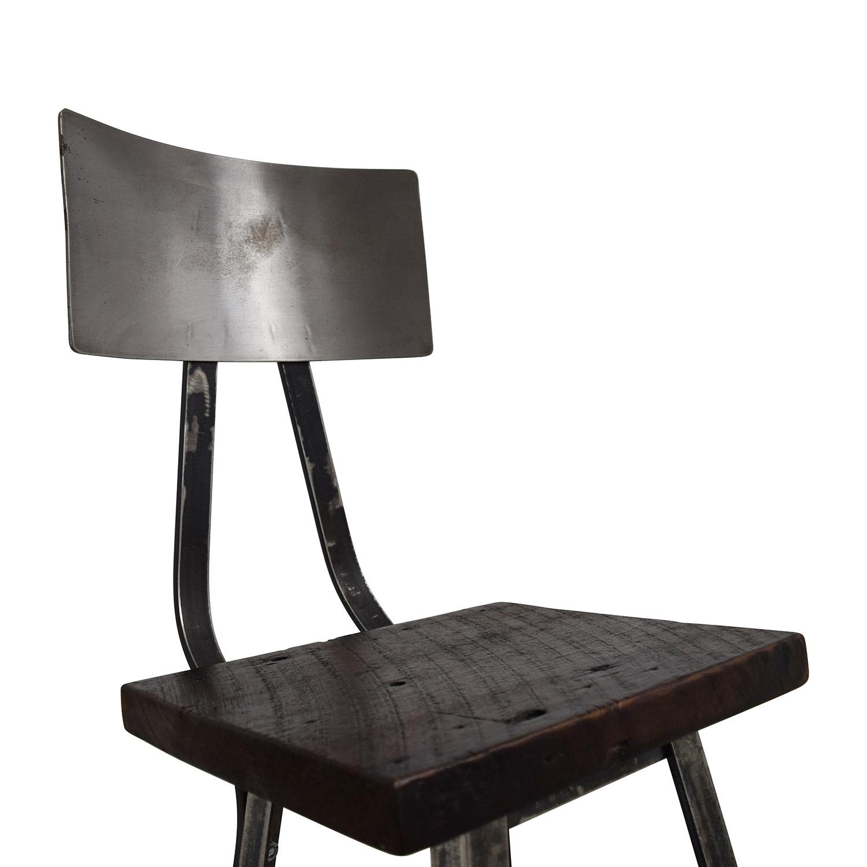 78 Off Custom Metal High Bar Stool Chairs