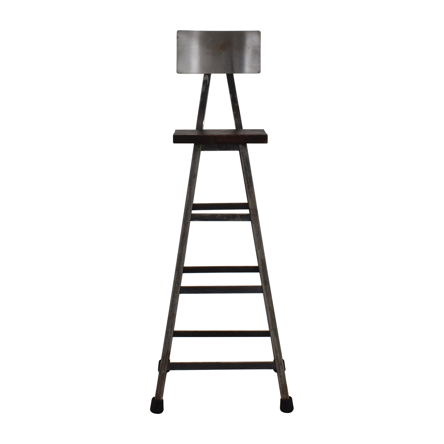 Awesome 78 Off Custom Metal High Bar Stool Chairs Pabps2019 Chair Design Images Pabps2019Com