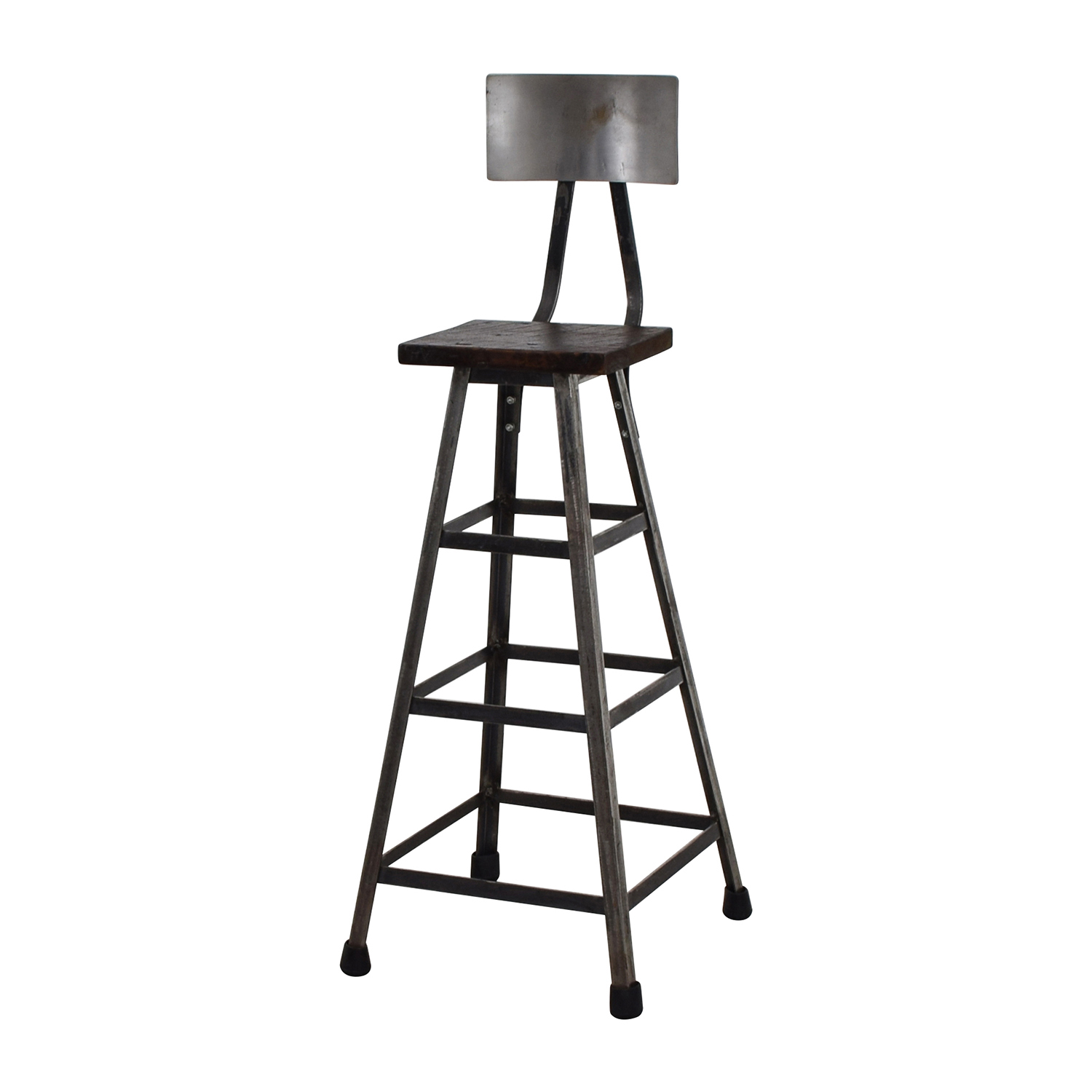 78 Off Custom Metal High Bar Stool Chairs