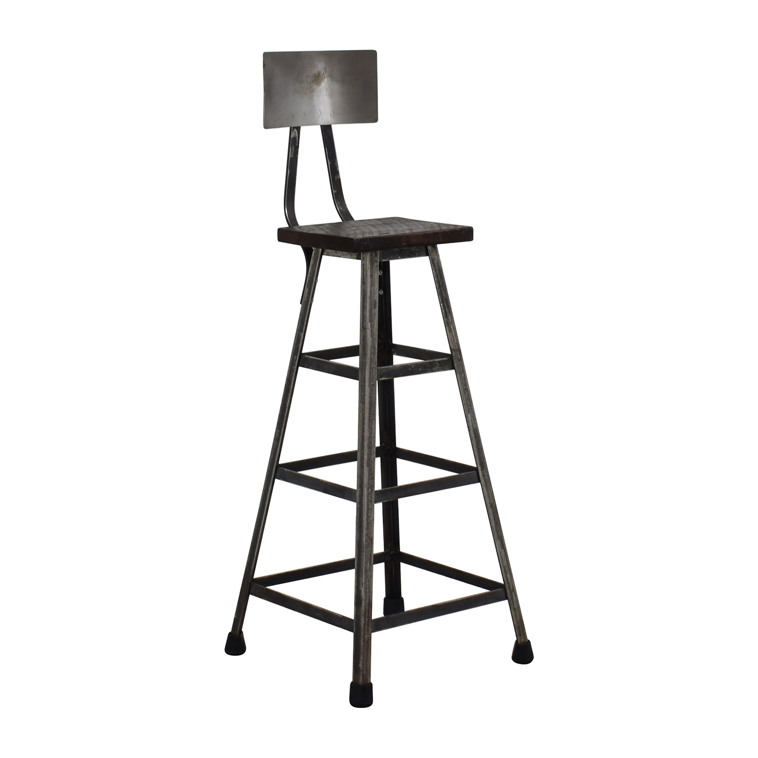77% OFF Custom Metal High Bar Stool Chairs