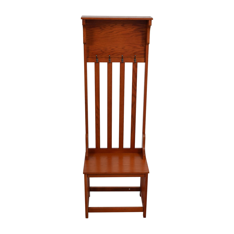 buy  Wood Hall Coat Rack online
