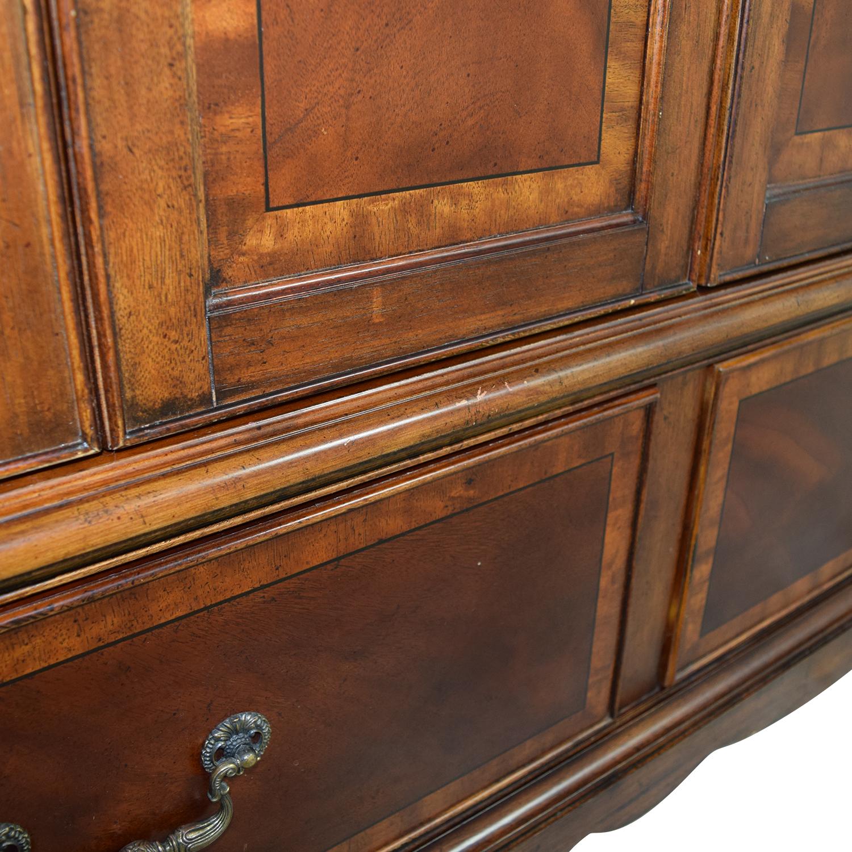 Custom Wooden Wardrobes ~ Off custom carved wood armoire storage