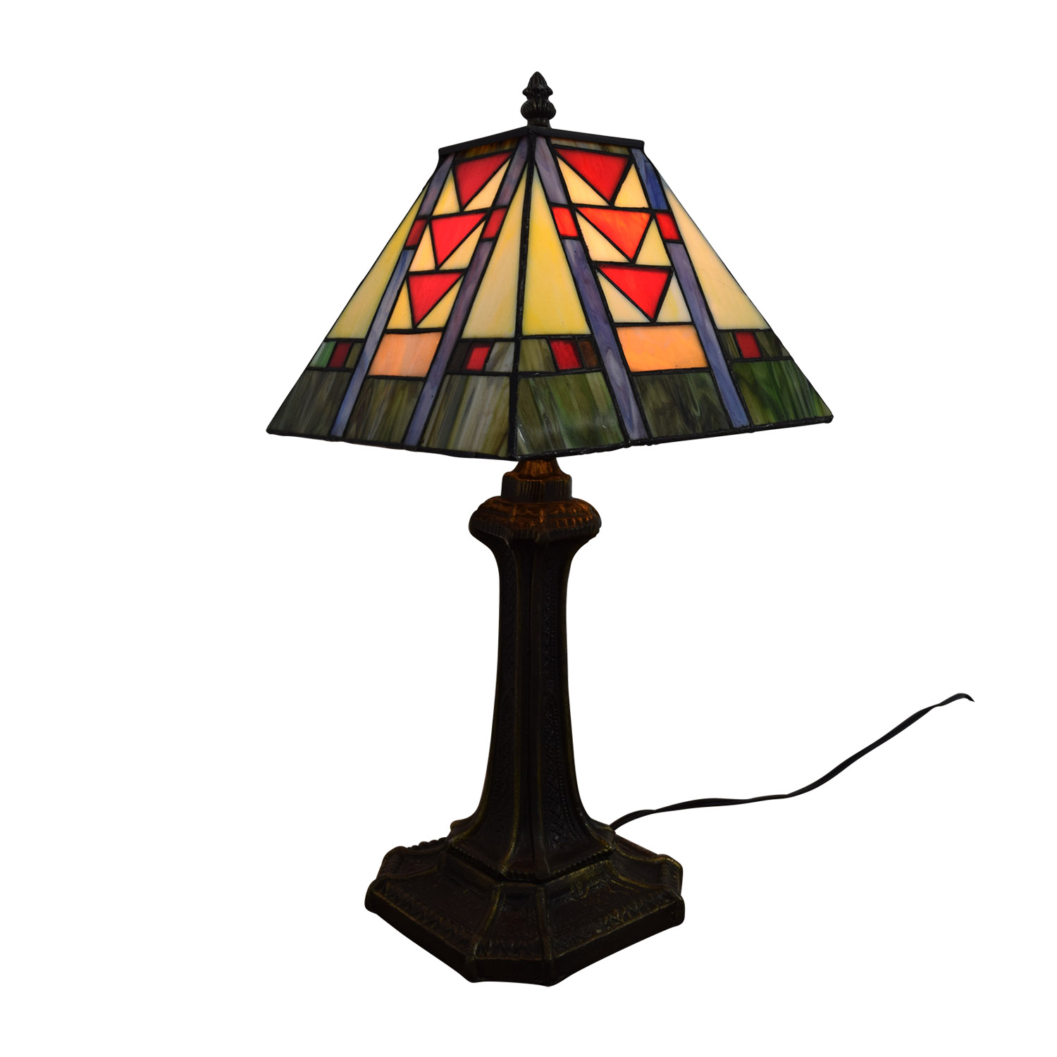 75 Off Tiffany Style Stained Glass Table Lamp Decor