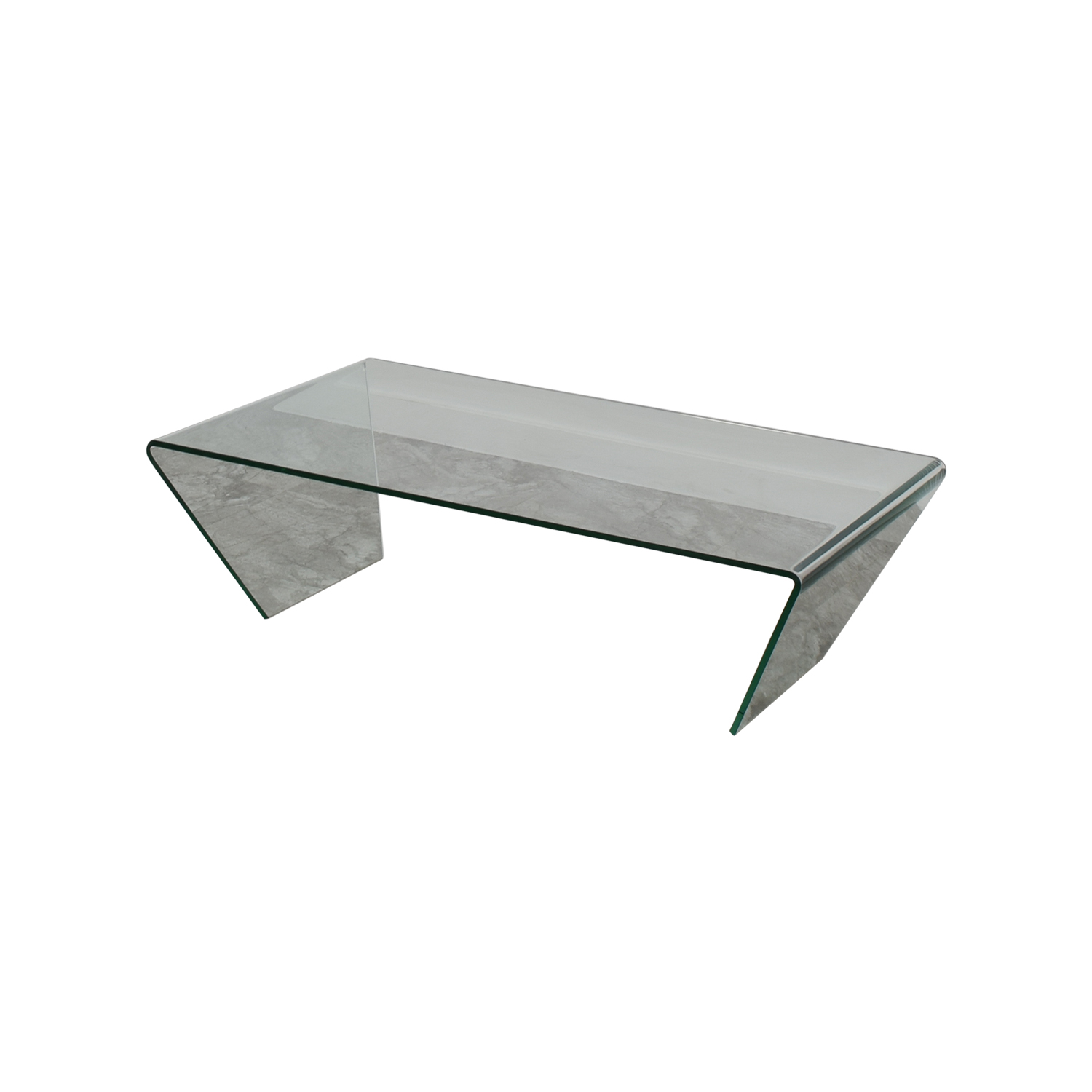 90% OFF - BoConcept BoConcept Glass Coffee Table / Tables