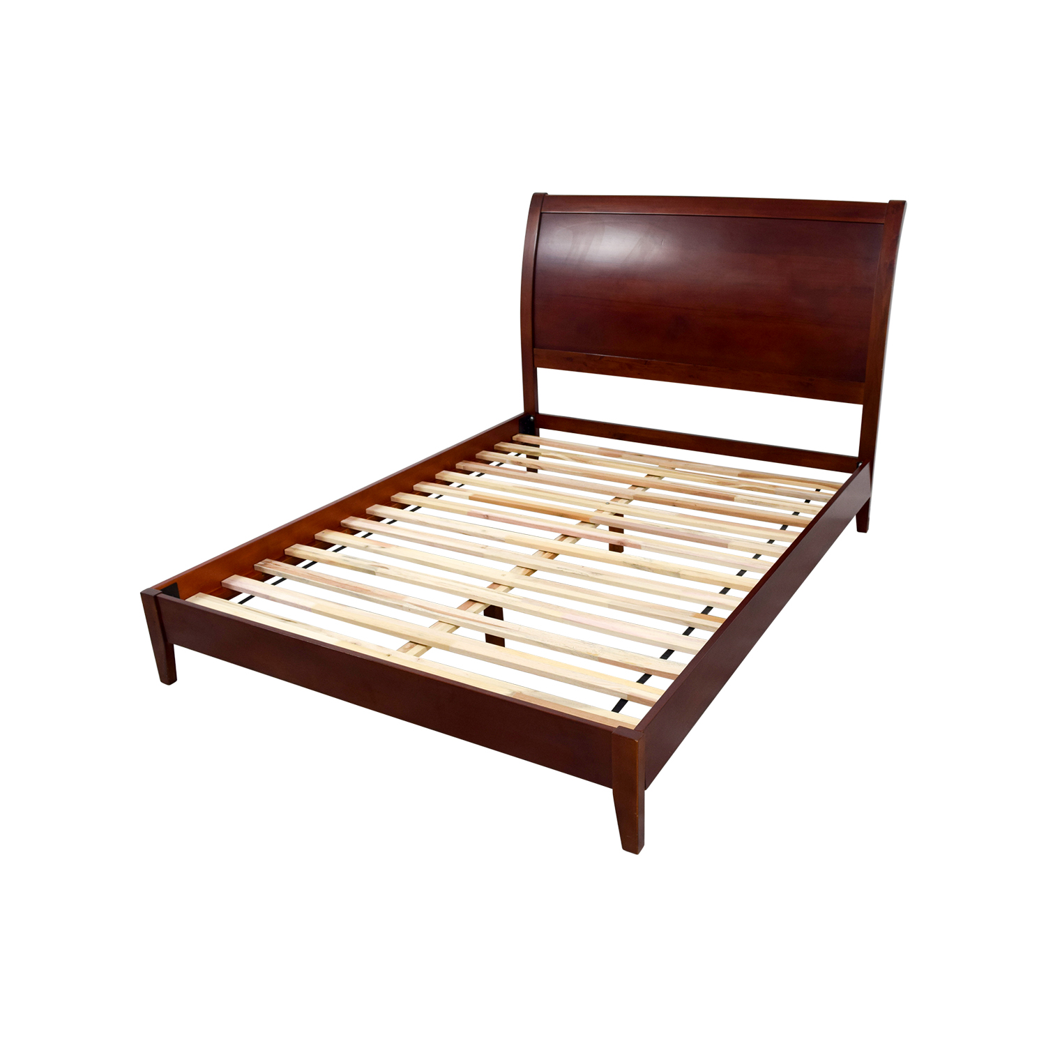 70 off sleepy 39 s sleepy 39 s queen wooden bed frame beds Wooden bed furniture