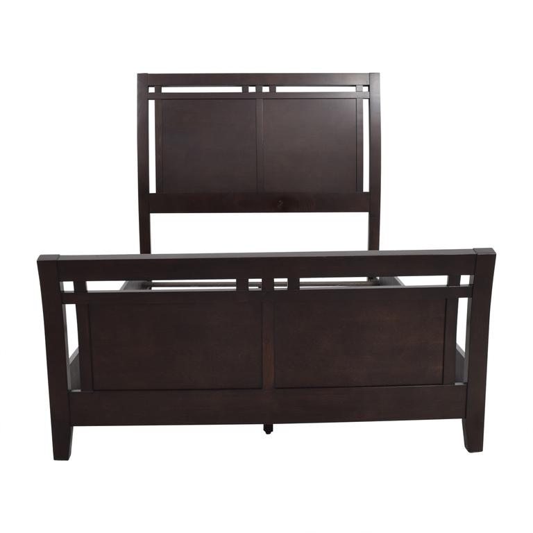 Macy's Full Wooden Bed Frame Macy's