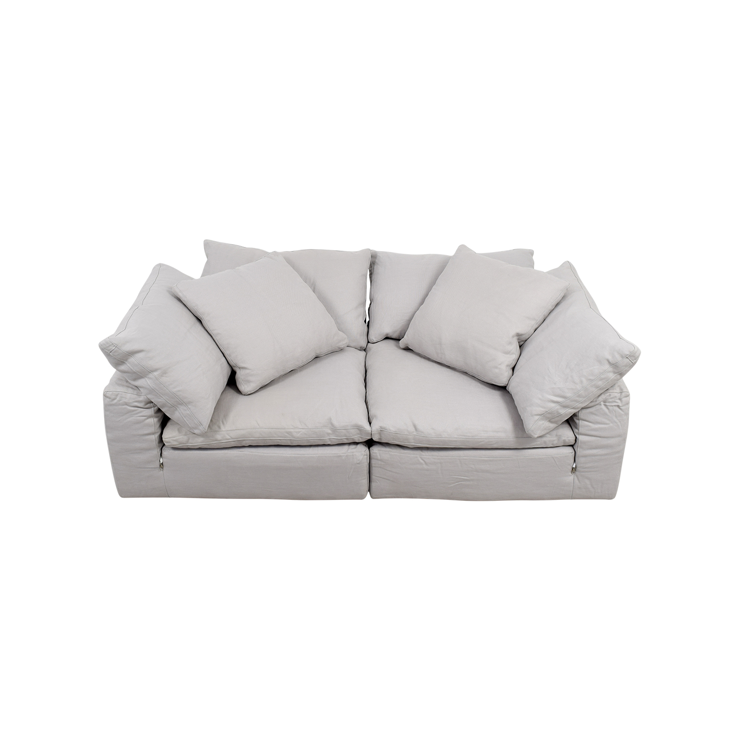 Restoration Hardware Restoration Hardware The Cloud White Sofa nyc