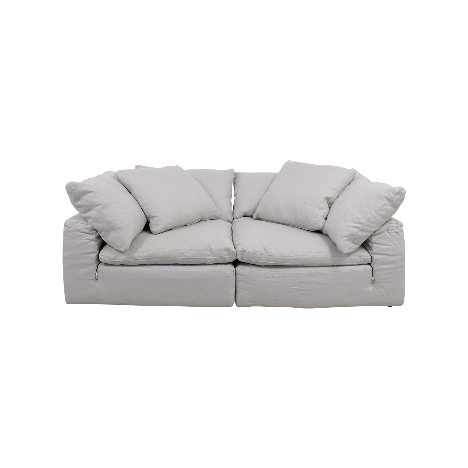 Restoration Hardware The Cloud White Sofa Online