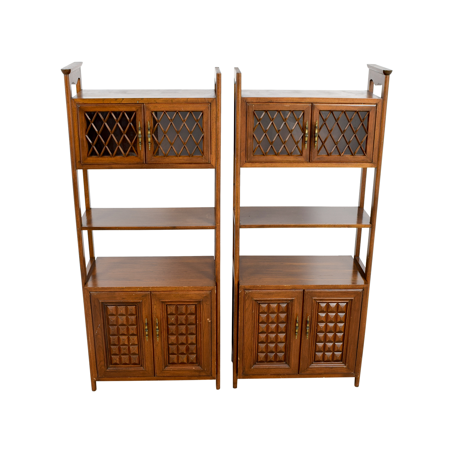 buy Mid-Century Wood Storage Cabinets