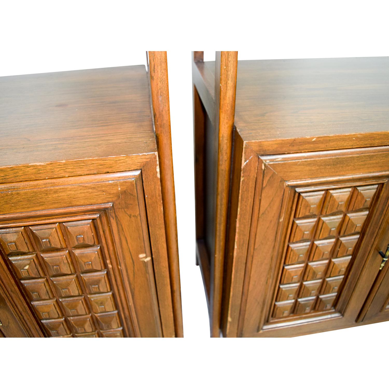Mid-Century Wood Storage Cabinets nj