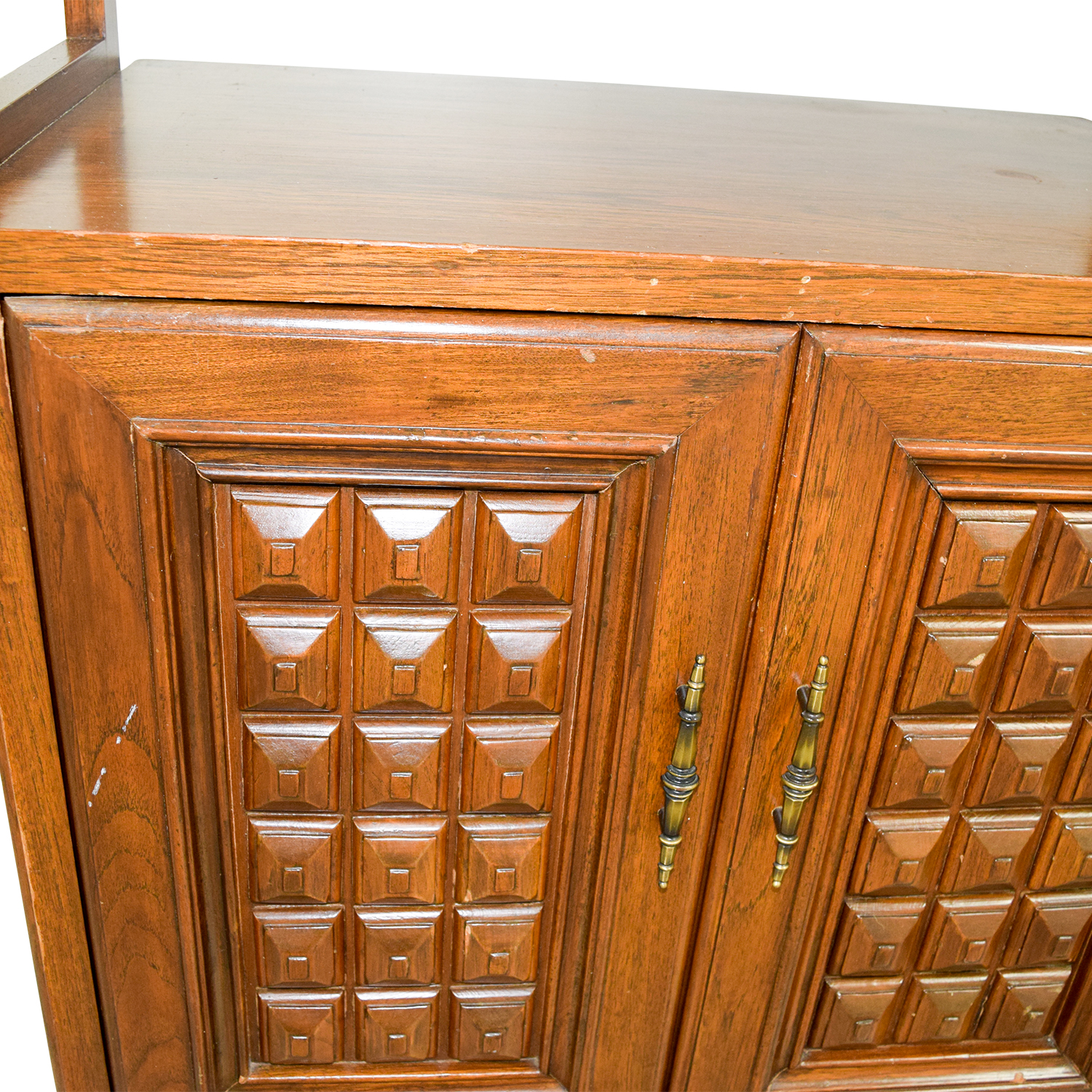 Mid-Century Wood Storage Cabinets coupon