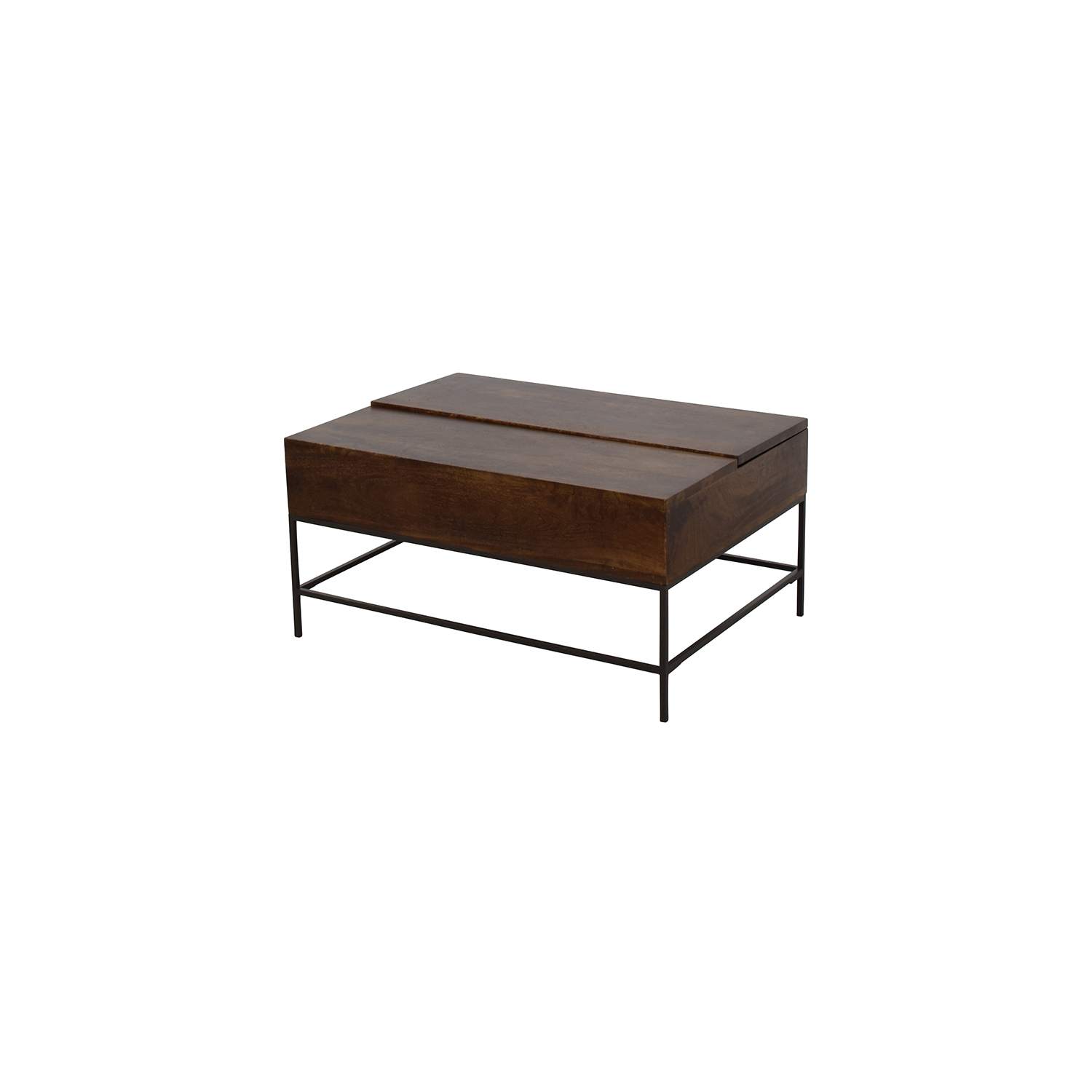 75 Off West Elm West Elm Industrial Storage Coffee Table Tables