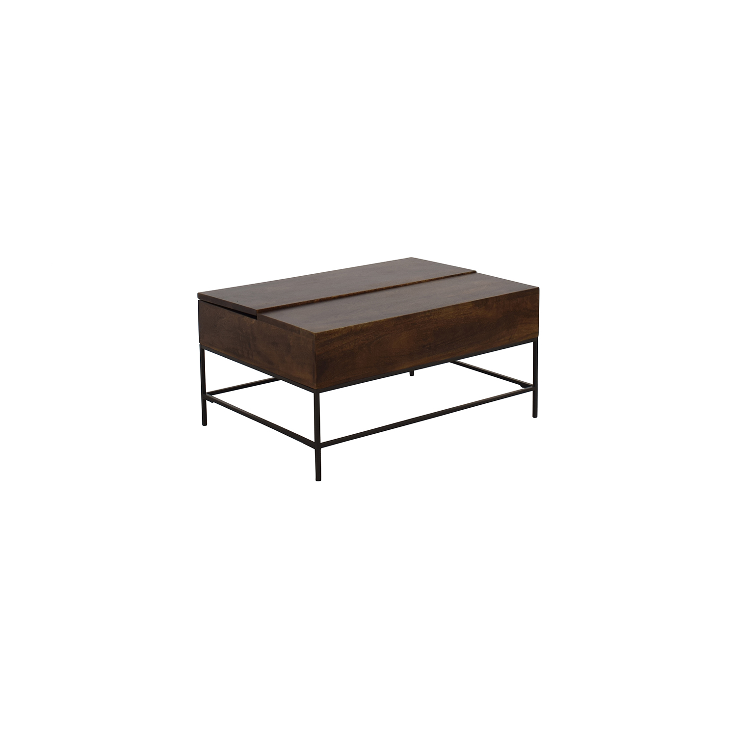 71% OFF West Elm West Elm Industrial Storage Coffee Table Tables