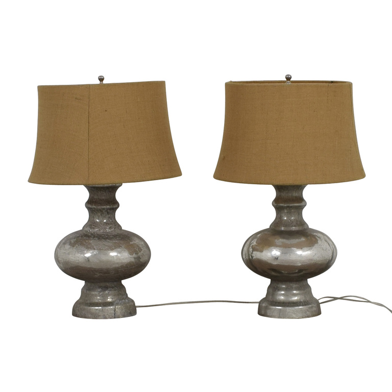 shop Pottery Barn Pottery Barn Antique Mercury Glass Table Lamps online