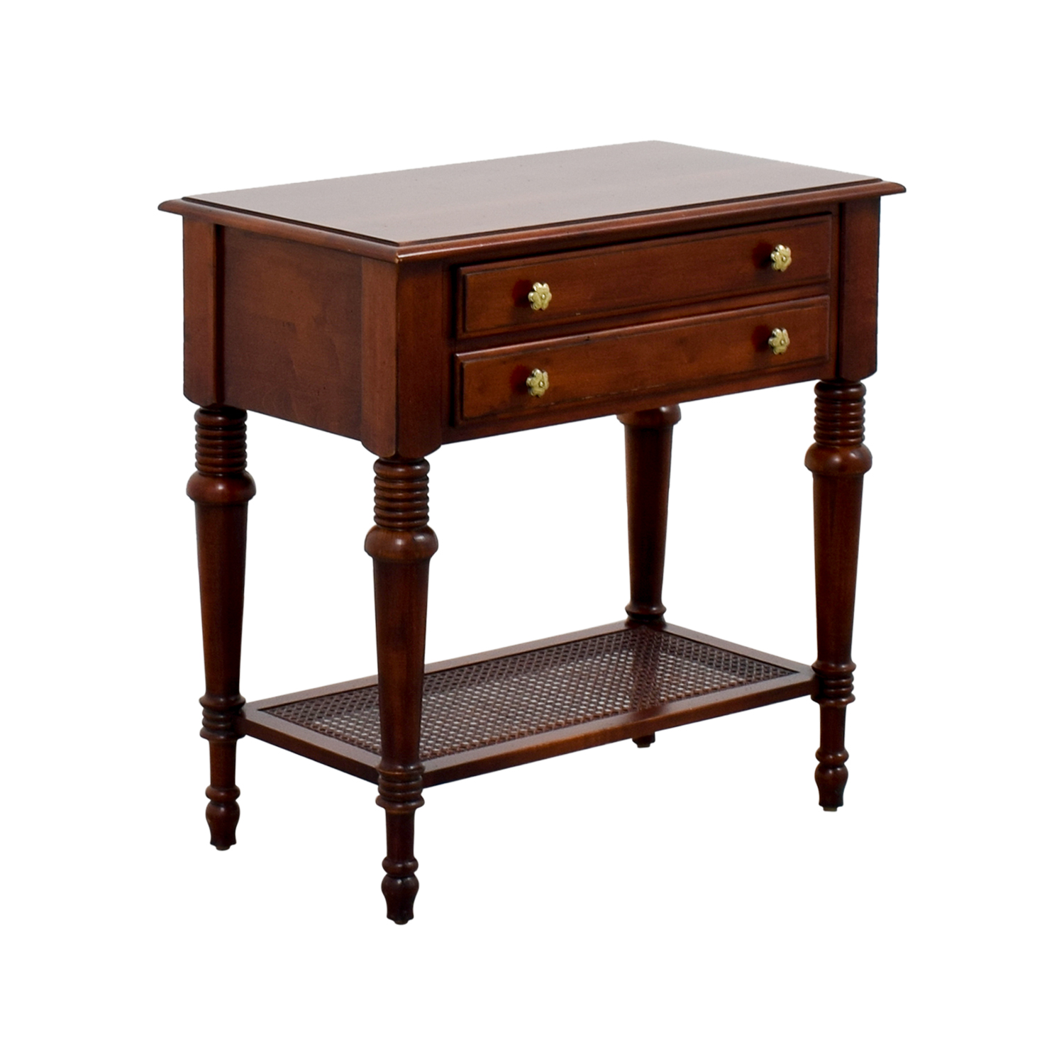 Used Ethan Allen Coffee Tables: Ethan Allen Ethan Allen Cayman Nightstand / Tables