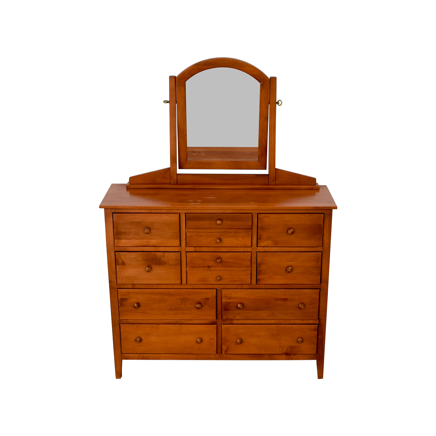 Solid Cherry Shaker Ten-Drawer Dresser coupon