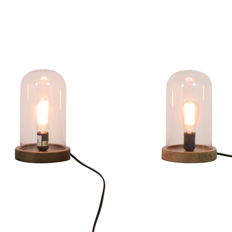buy World Market Edison Lamps World Market Sofas