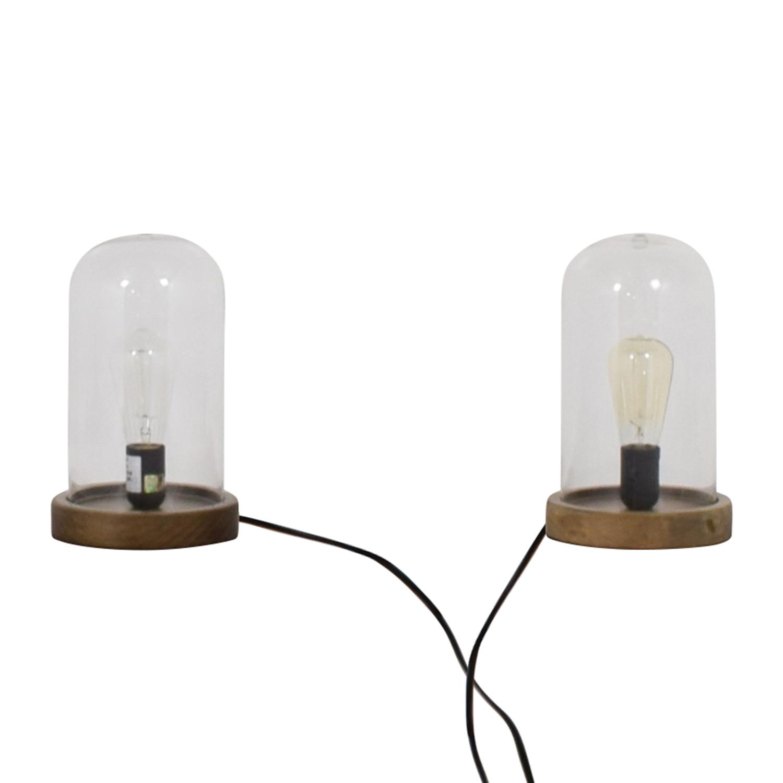 World Market World Market Edison Lamps dimensions
