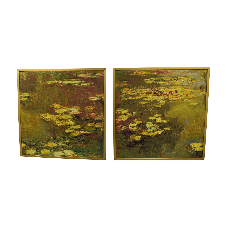 shop Claude Monet Water Lillies Framed Prints Claude Monet Decor