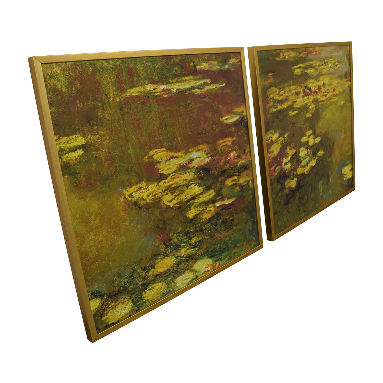 Claude Monet Claude Monet Water Lillies Framed Prints nj