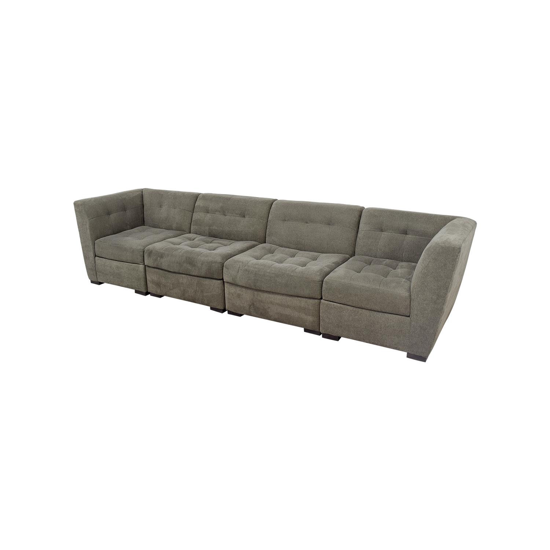 63 Off Macy S Macy S Roxanne Modular Sectional Sofa Sofas