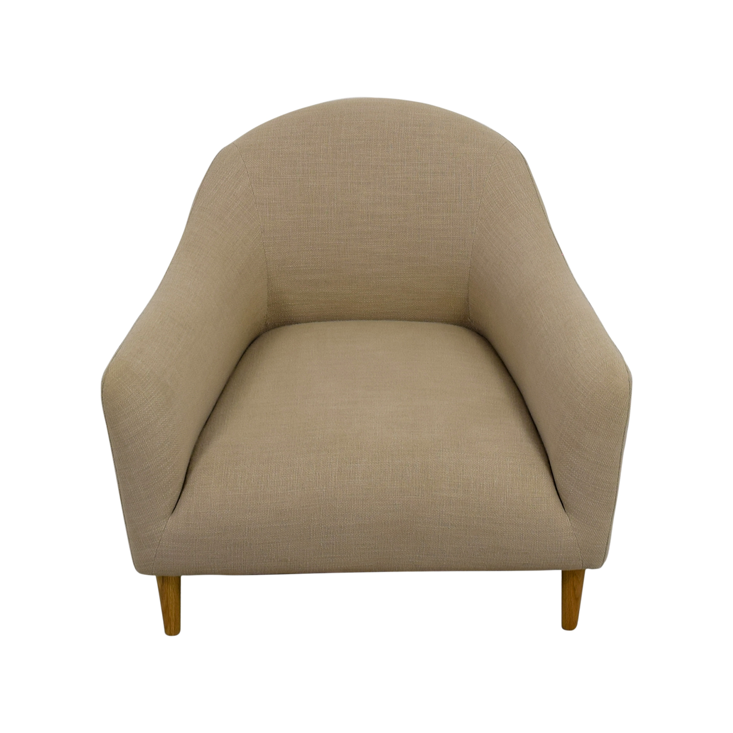 buy Crate and Barrel Crate and Barrel Pennie Beige Accent Chair online
