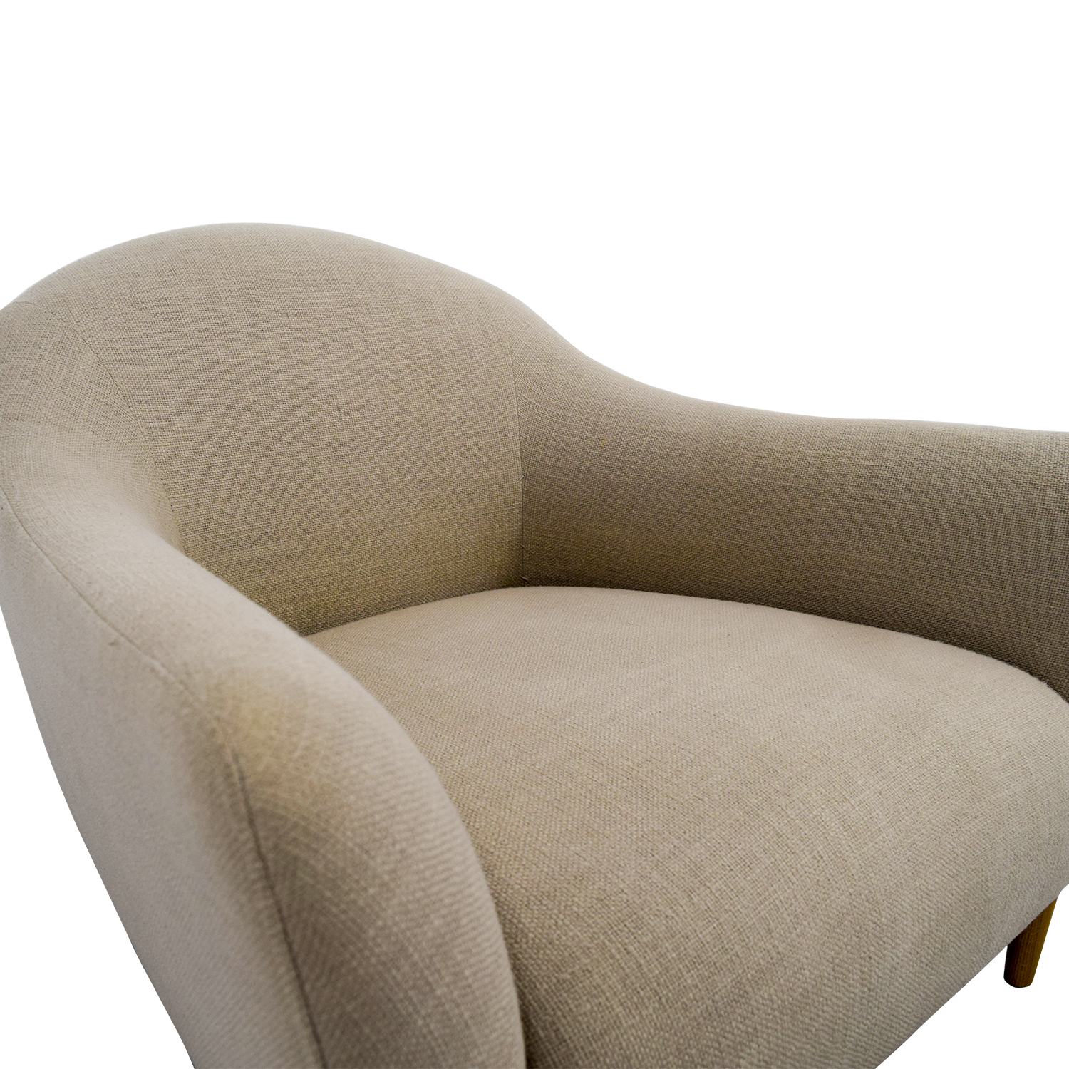 crate and barrel accent chair