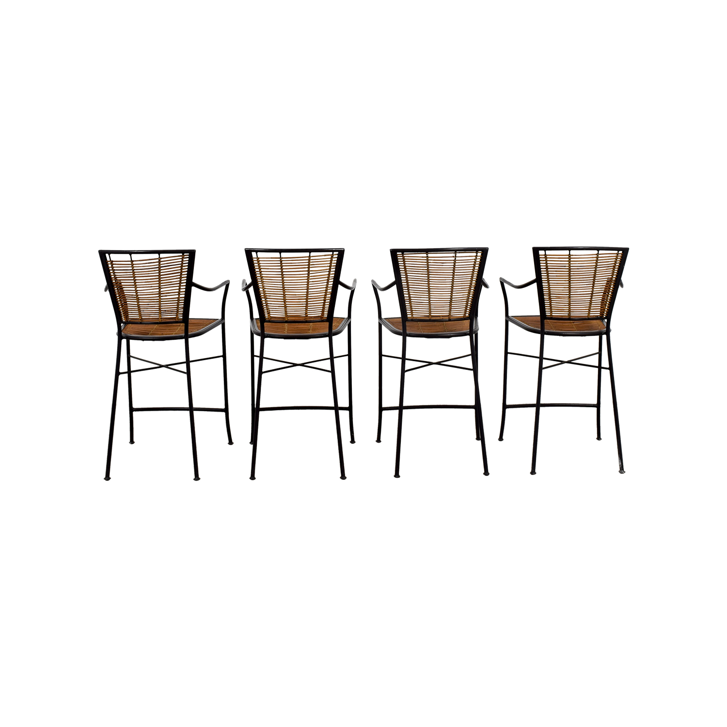 buy Wicker Bar Stools  Chairs