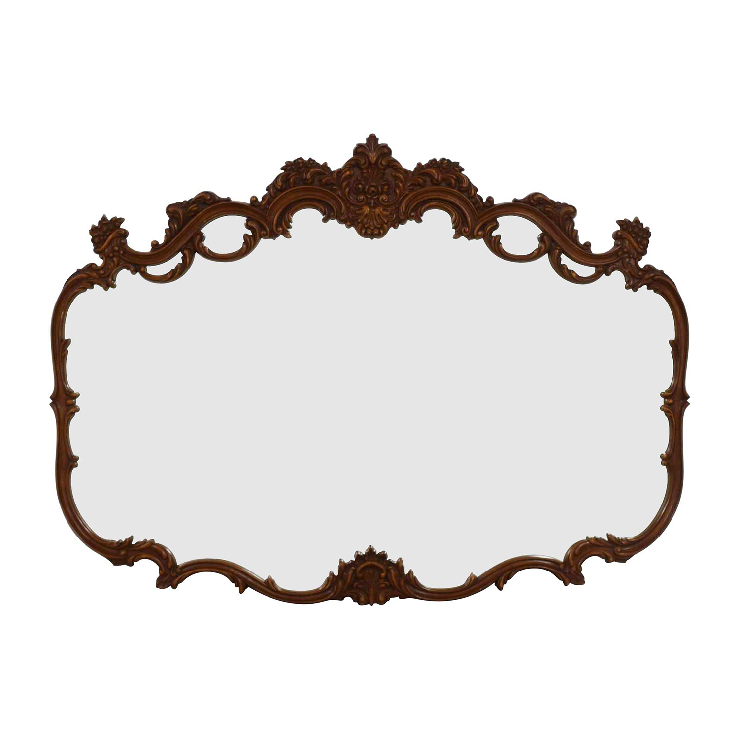 shop Wood Carved Mirror Decor