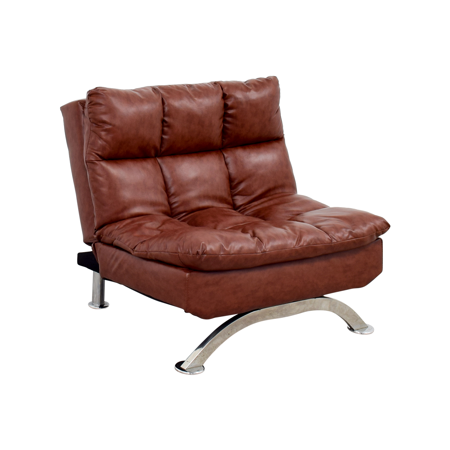 56 Off Wayfair Wayfair Love Brown Leather Tufted