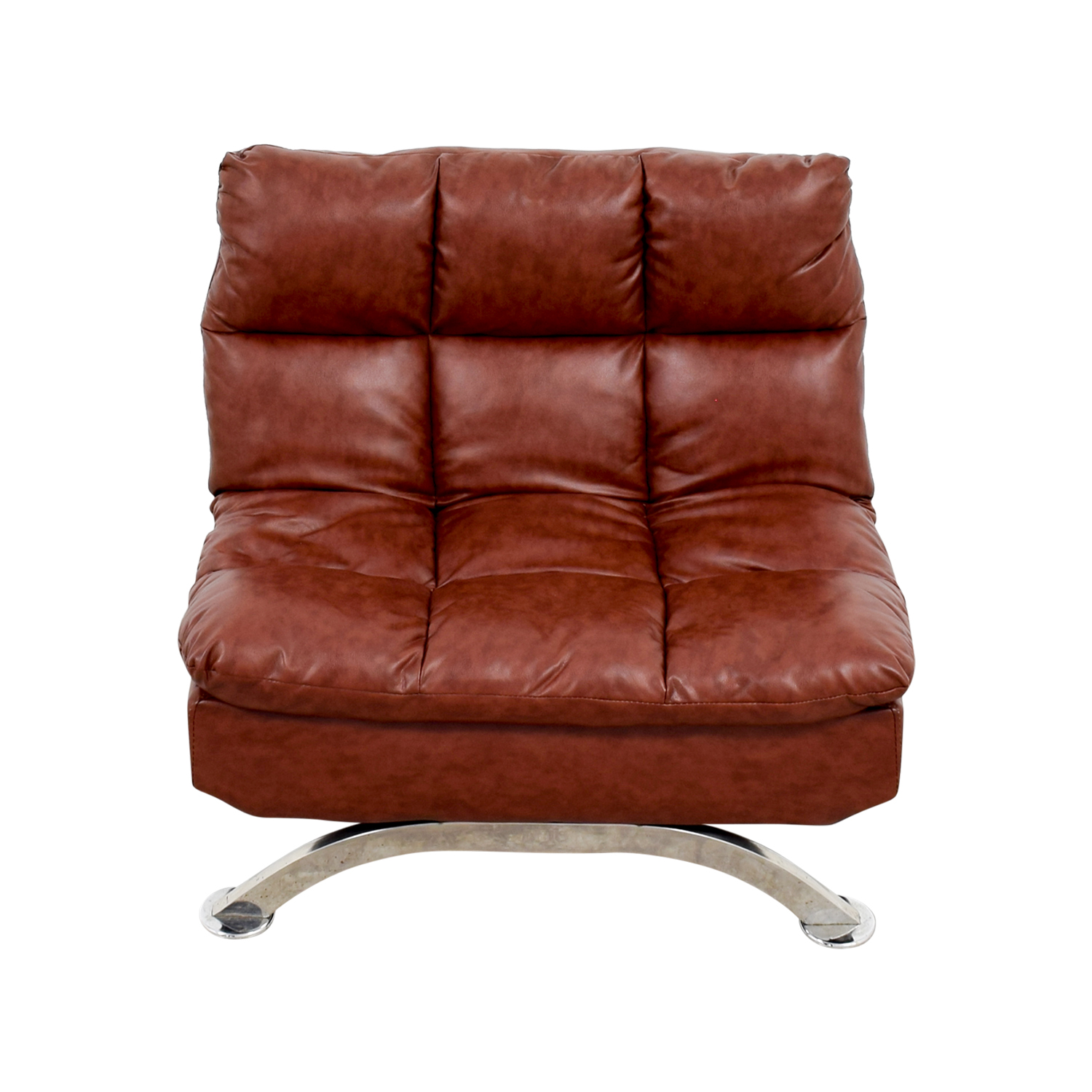 56% OFF Wayfair Wayfair Love Brown Leather Tufted Reclining