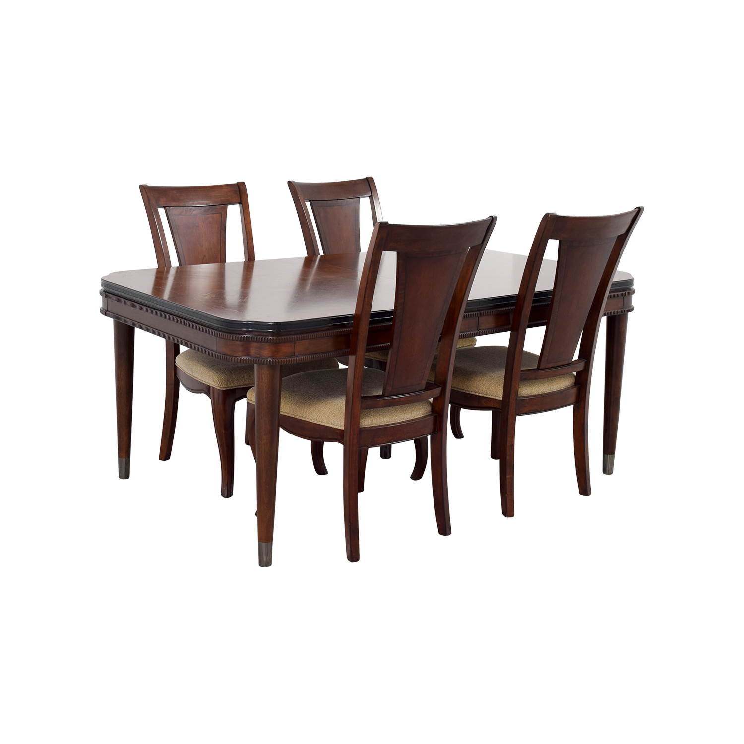 56 off raymour flanigan raymour flanigan extendable for Extendable dining set
