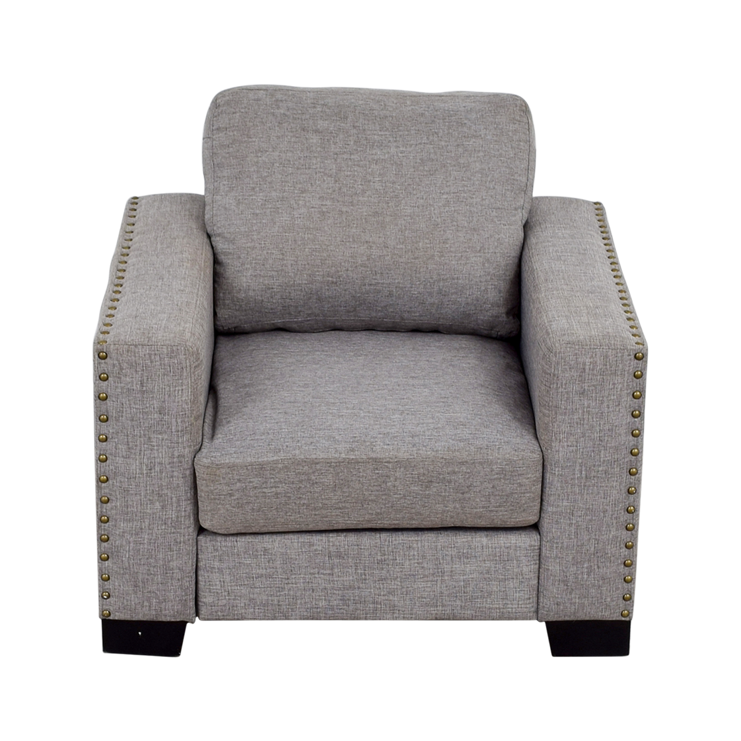 shop Inspire Q Classic Inspire Q Classic Grey Nailhead Track Arm Accent Chair online