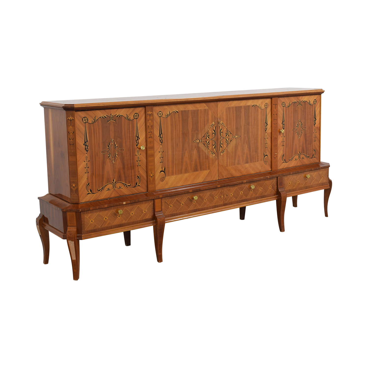 Unfinished Wood Sideboard ~ Off romanian sheraton solid wood sideboard storage