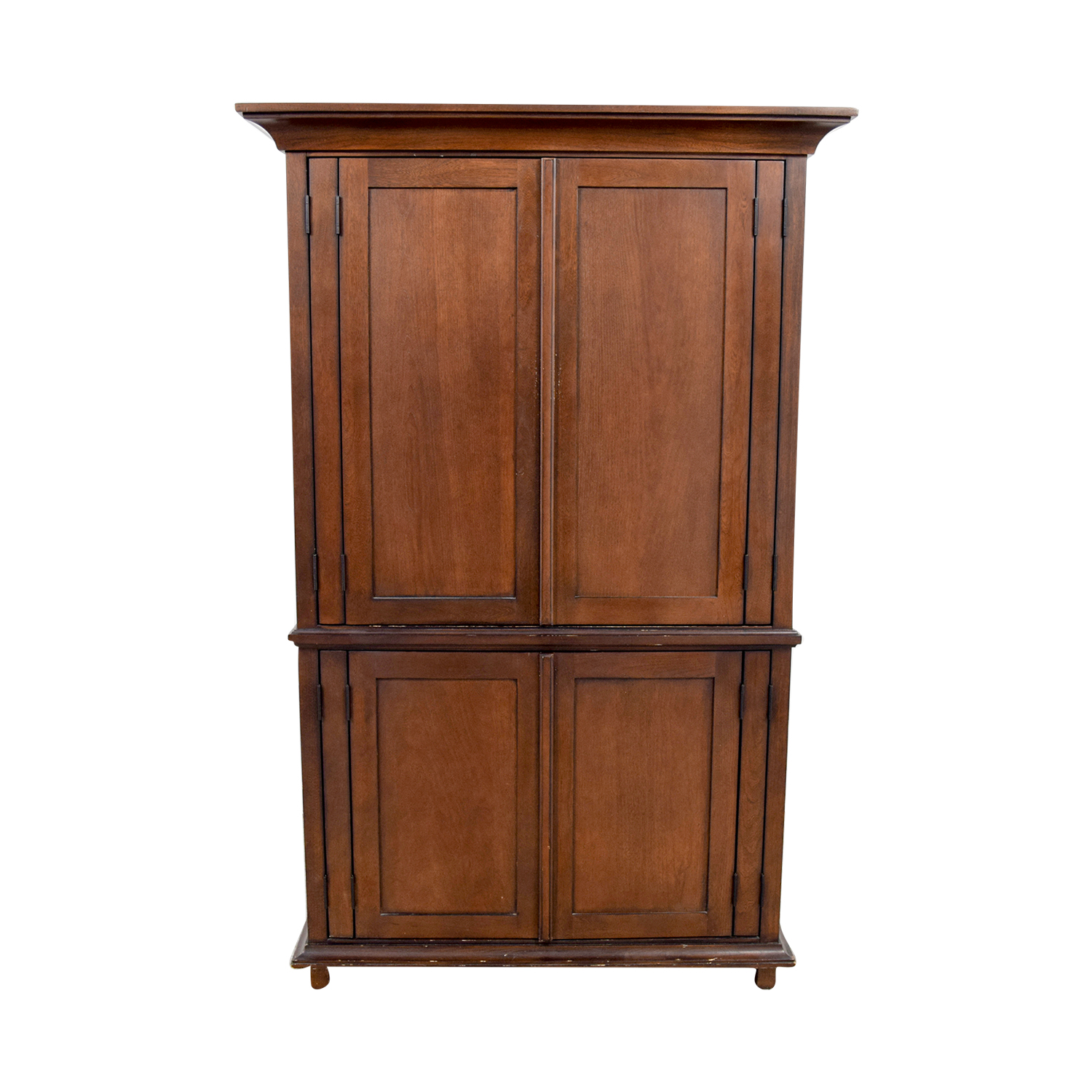 Delicieux 75% OFF   Pottery Barn Pottery Barn Armoire With Shelves / Storage