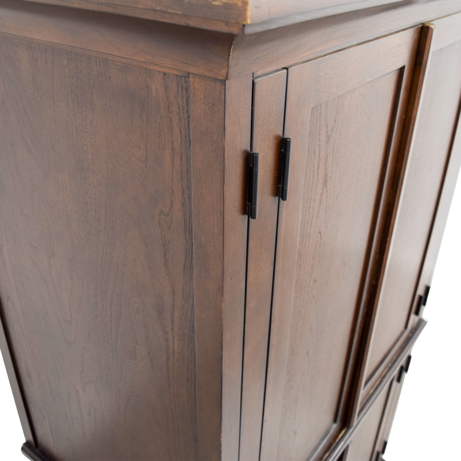 Pottery Barn Pottery Barn Armoire With Shelves