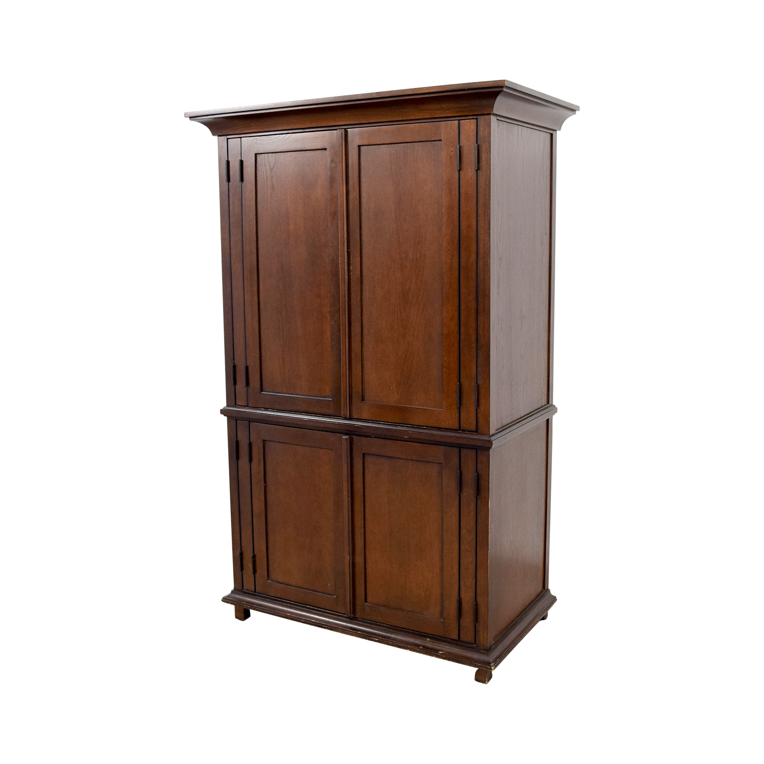 Merveilleux ... Pottery Barn Pottery Barn Armoire With Shelves Discount ...