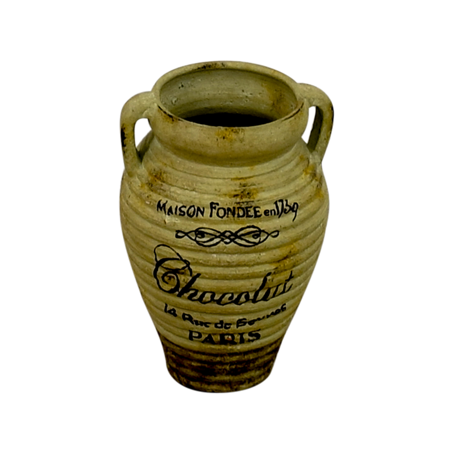 buy French Chocolate Floor Vase Decor