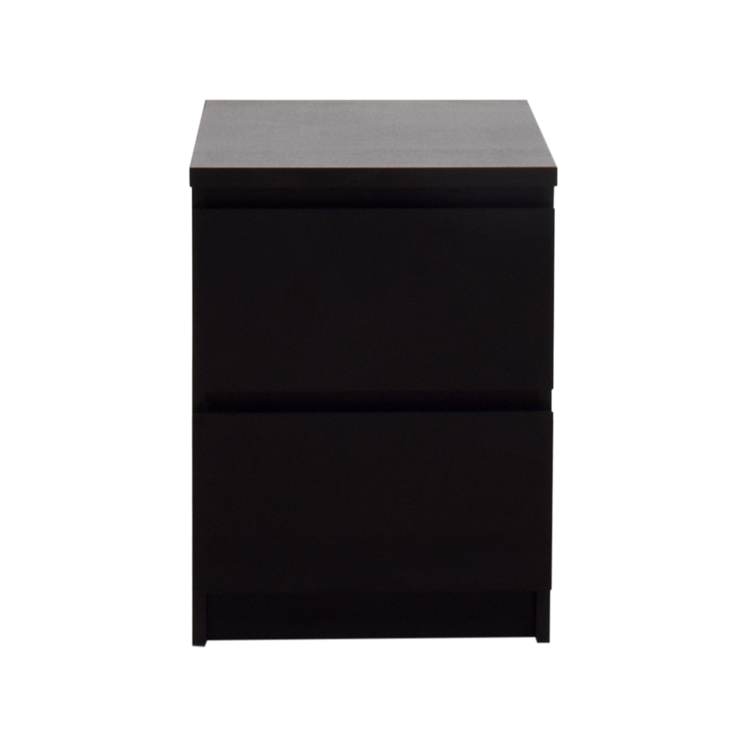 shop IKEA Malm Two-Drawer Chest IKEA End Tables