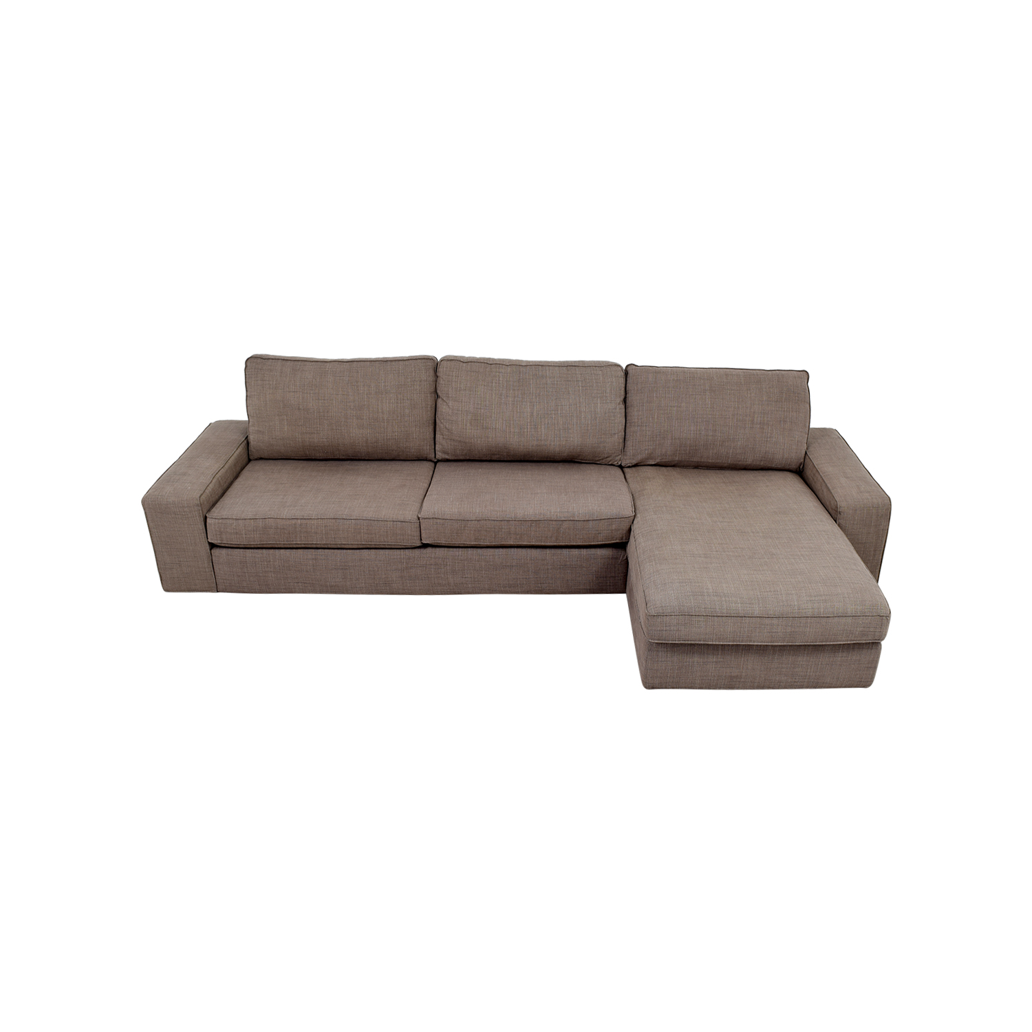 Charming IKEA IKEA Kivik Grey Sectional Dimensions