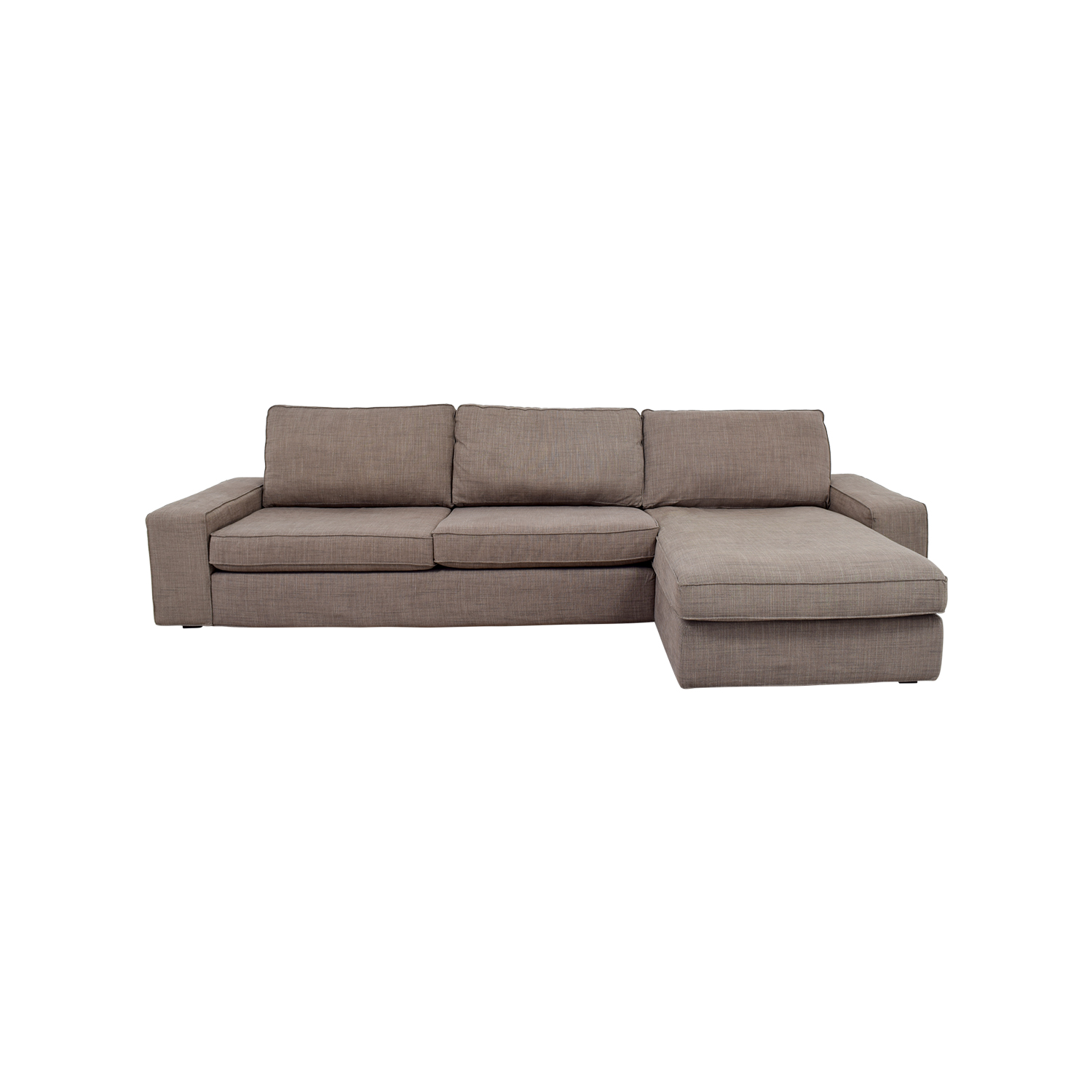 IKEA IKEA Kivik Grey Sectional dimensions