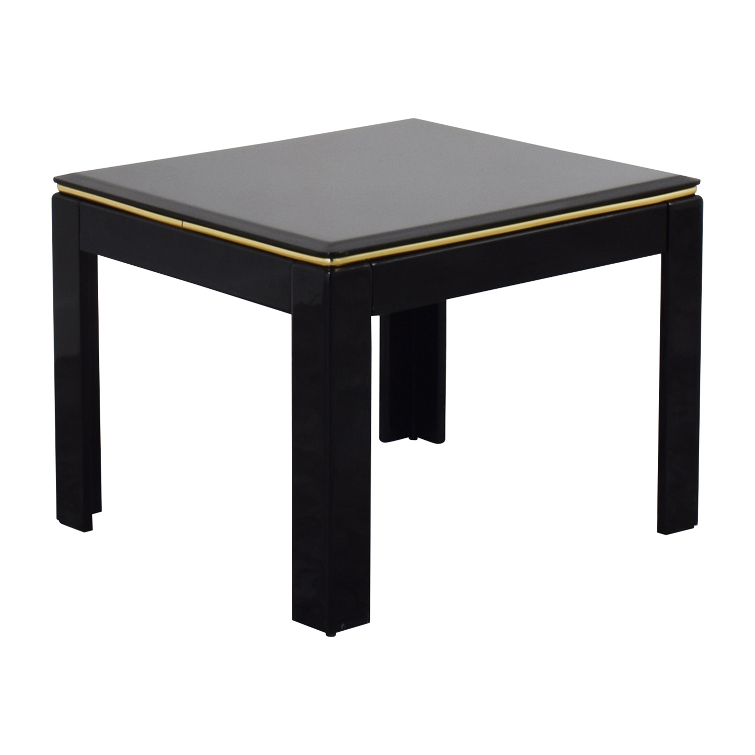 Elegant ... Black Lacquer End Table / Tables ...
