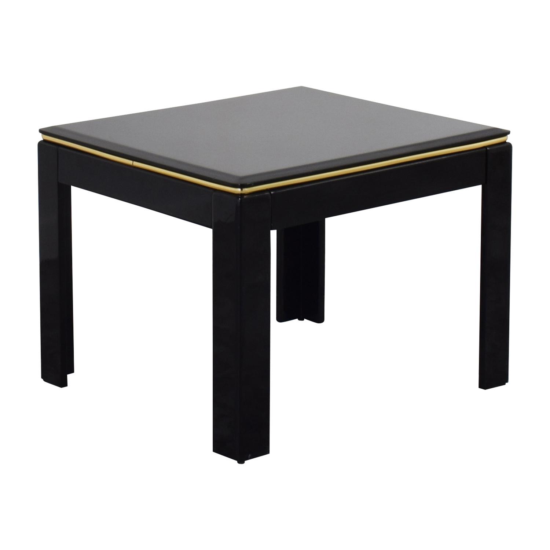 Elegant ... Black Lacquer End Table / Tables ...