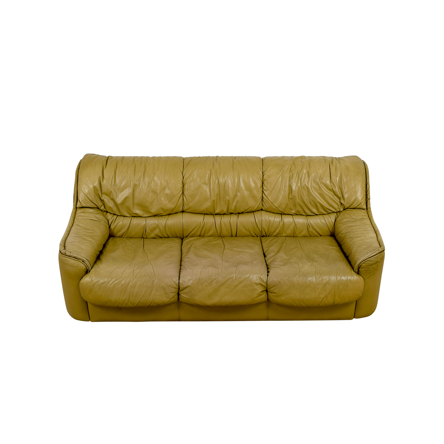buy Beige Leather Sofa Sofas