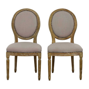 Baxton Studio Baxton Studio Clairette Traditional French Round Chair dimensions