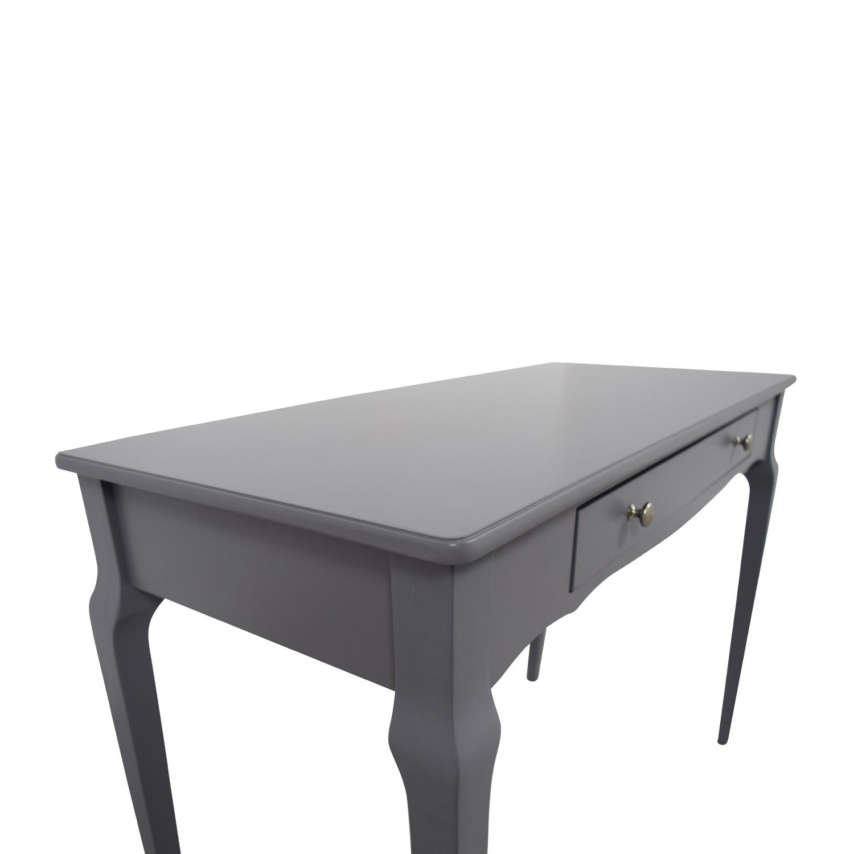 ... shop Inspire Q Bold Daniella Grey Writing Desk Inspire Q Bold Tables ...