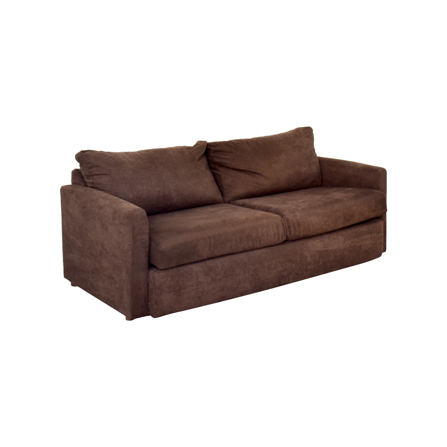 67 Off Bob S Furniture Bob S Furniture Brown Loveseat
